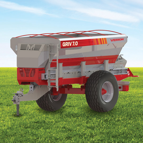 Griv 7.0  Band fertilizer spreader · 7000 liters