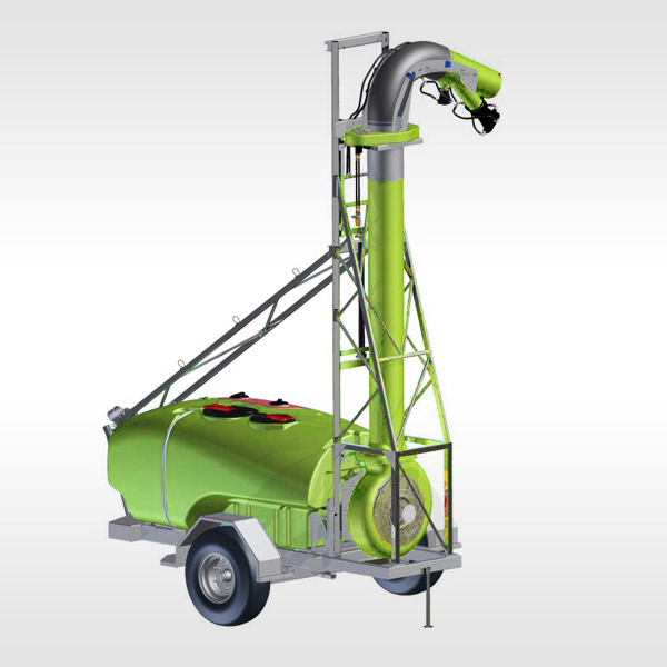 Cannon for high floor applications - Spray Gun XL